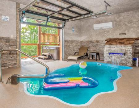 Indoor Pool Cabins
