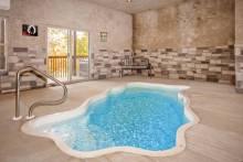 indoor pool gatlinburg cabin